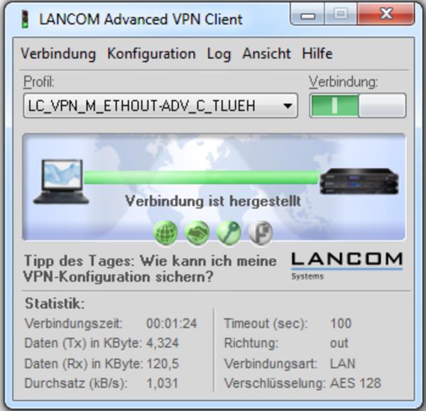 LANCOM Advanced VPN Client (1 Licence) für MAC