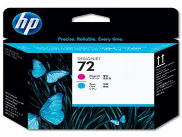HP Druckkopf Nr. 72 C9383A Magenta/Cyan (ca. k.A. Seiten)