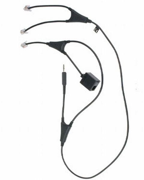 JABRA MSH-Adapterkabel für GN Pro™94xx/920/GO™64xx (gewinkelt)