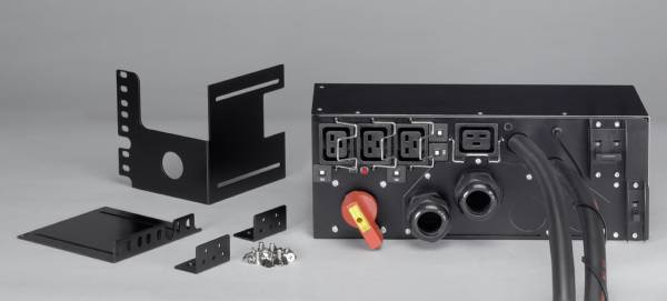 Eaton HotSwap MBP 11000i 3:1 Stromverteilereinheit (PDU) Schwarz