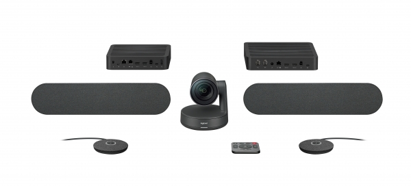 Logitech RALLY Plus HD Webcam Kit für Videokonferenzen