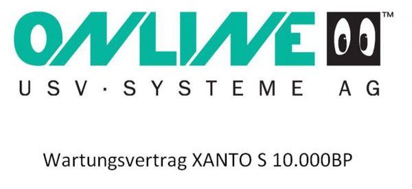 Online USV - Inspektionsvertrag XANTO S 10.000BP