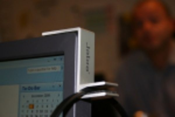 JABRA Headset Hanger/Haken für PC (Metall)