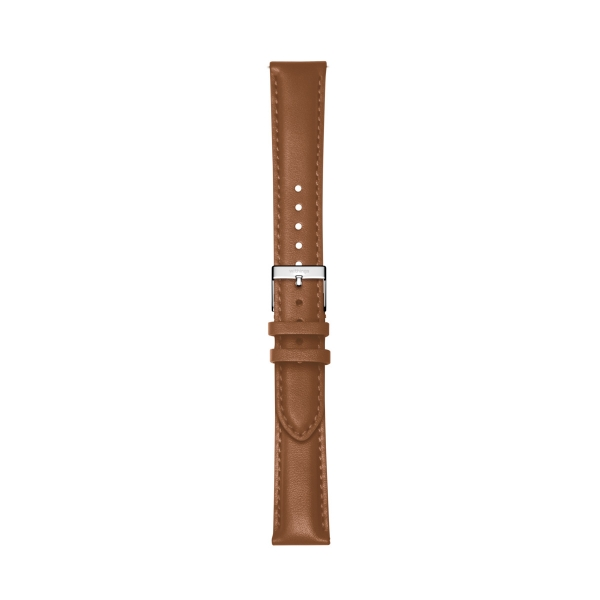 Withings Leder-Armband, 18mm, Steel HR und Scanwatch, Brown