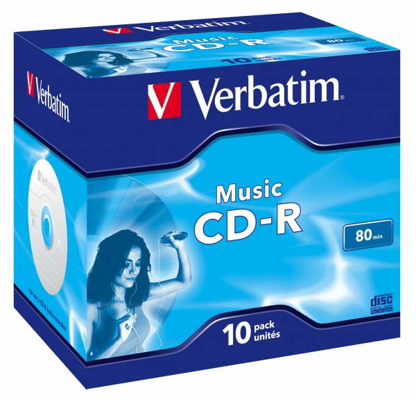 Verbatim Music CD-R 700 MB 10 Stück(e)