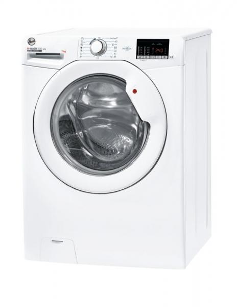 Hoover H-WASH 300 LITE H3W4 472DE/1-S Waschmaschine Freistehend Frontlader 7 kg 1400 RPM D Weiß