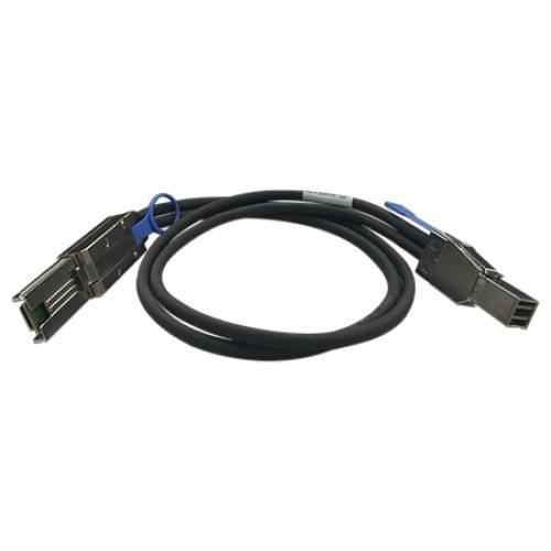 QNAP CAB-SAS30M-8644-8088 Serial Attached SCSI (SAS)-Kabel 1 m Schwarz