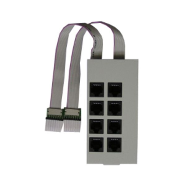 Modulfrontplatte S0-Modul 540 für AS 200 IT perlgrau