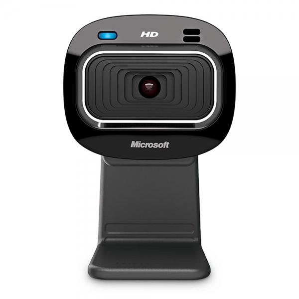 Microsoft LifeCam HD-3000 Webcam 1 MP 1280 x 720 Pixel USB 2.0 Schwarz