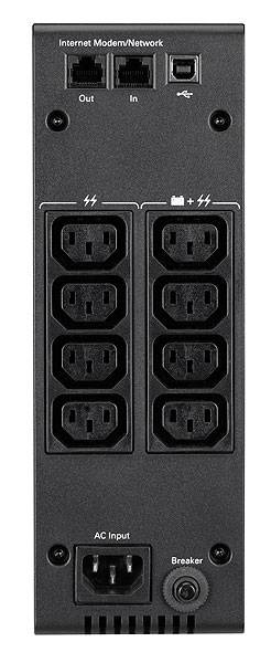 Eaton 5S 1000i Unterbrechungsfreie Stromversorgung (UPS) 1000 VA 600 W 8 AC-Ausgänge