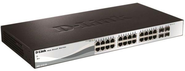 D-Link DGS-1210-28 28-Port Layer2 Smart Managed Gigabit Switch