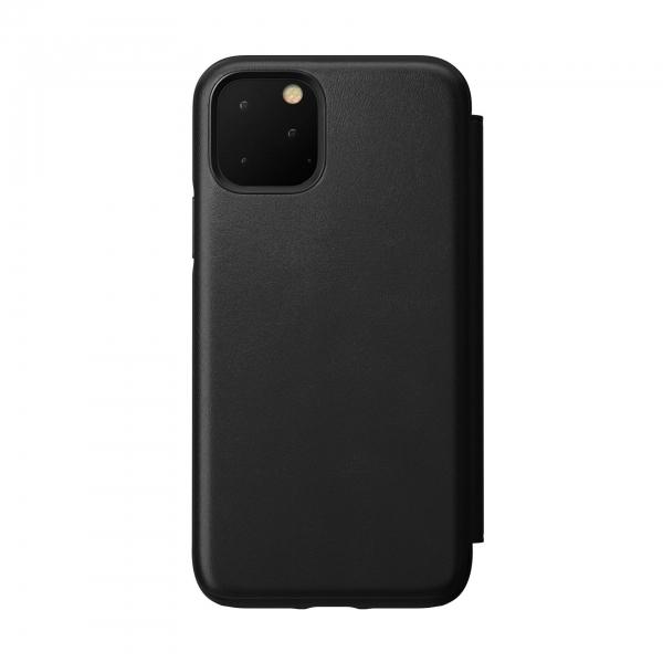 Nomad Folio Leather Rugged Black iPhone 11 Pro