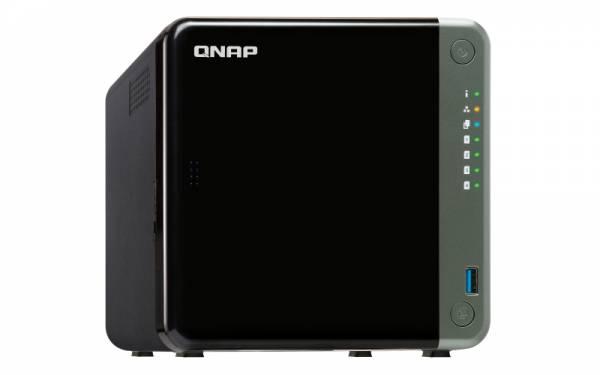 QNAP TS-453D J4125 Eingebauter Ethernet-Anschluss Tower Schwarz NAS