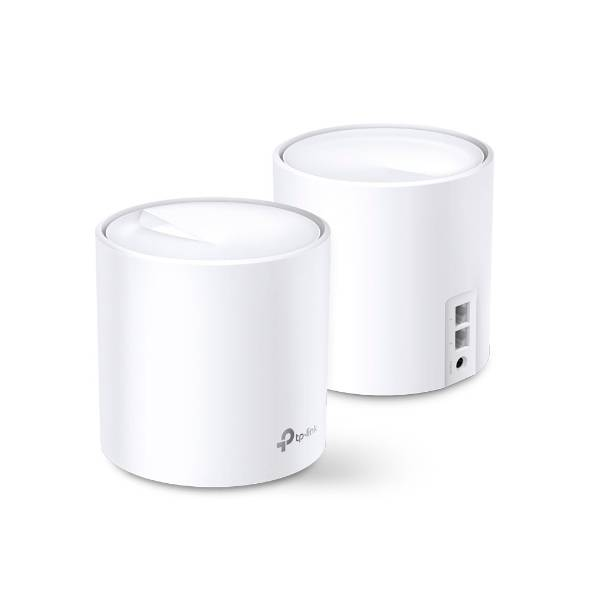TP-LINK Deco X20 (2-pack) WLAN-Router Dual-Band (2,4 GHz/5 GHz) Gigabit Ethernet Weiß