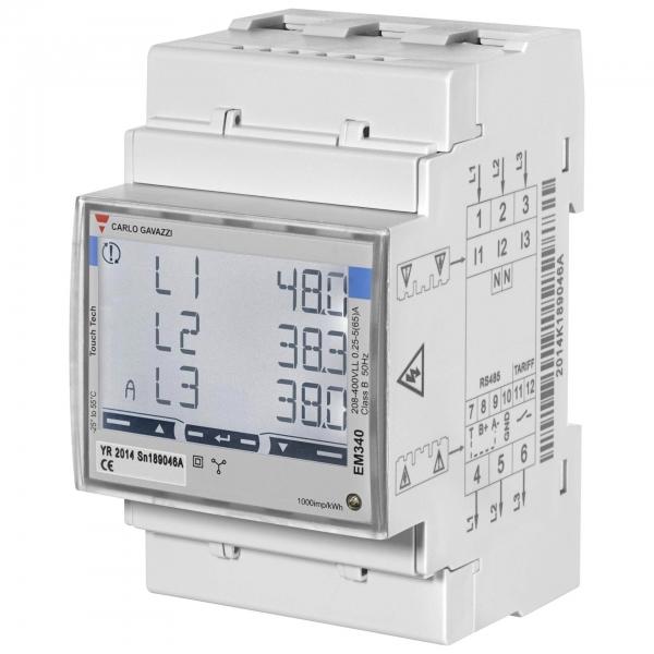 Wallbox Power Meter 3-phasig bis 65A EM340