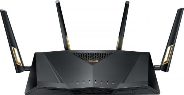ASUS RT-AX88U WLAN-Router Dual-Band (2,4 GHz/5 GHz) 3G 4G Schwarz