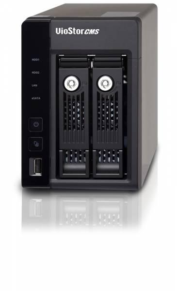 QNAP VSM-2000 NAS & Speicherserver Eingebauter Ethernet-Anschluss Desktop Schwarz