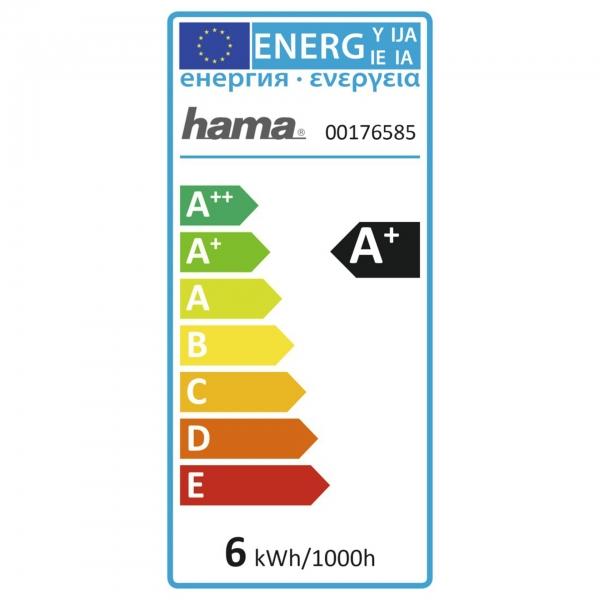 Hama WLAN-LED-Lampe, GU10, 5,5W ohne Hub