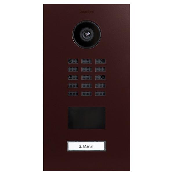 DoorBird D2101V IP Video Türstation, Edelstahl, RAL 3007