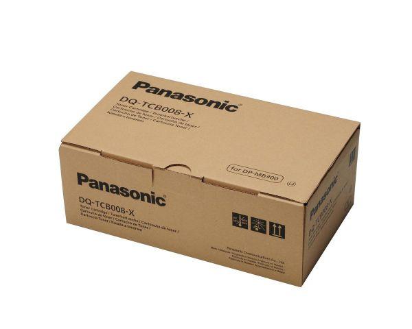 Panasonic DQ-TCB008-XD Toner Doppelpack (2x ca.8.000 Seiten)