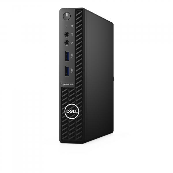 DELL OptiPlex 3080 DDR4-SDRAM i5-10500T MFF Intel® Core™ i5 Prozessoren der 10. Generation 16 GB 256 GB SSD Windows 10 Pro Mini-PC Schwarz