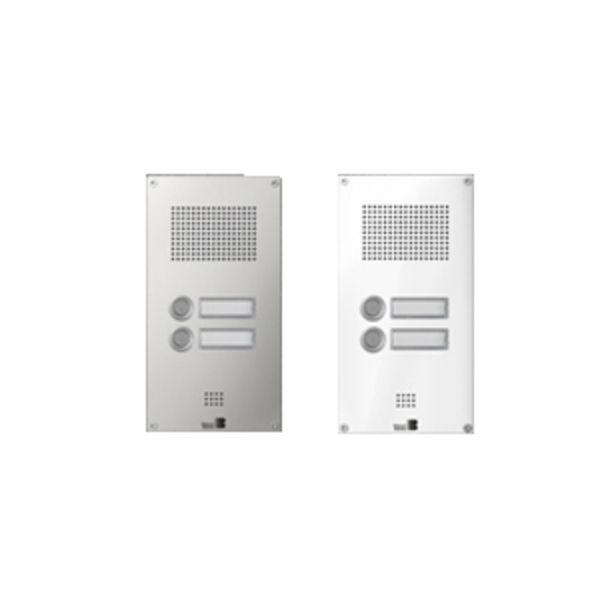 Behnke 5-0052 Serie 5 Unterputz-Set mit 2-Ruftasten (Weiß)