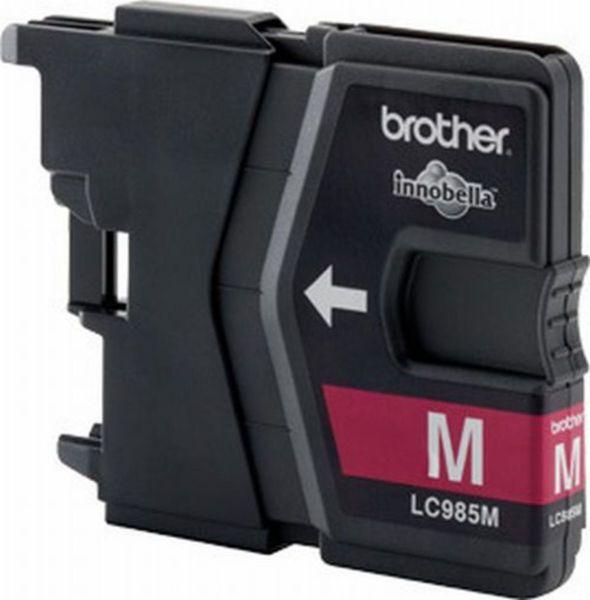 Brother Tintenpatrone LC-985M Magenta (ca. 260 Seiten)