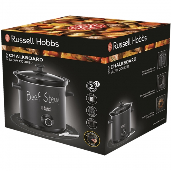 Russell Hobbs 24180-56 Chalkboard Schongarer