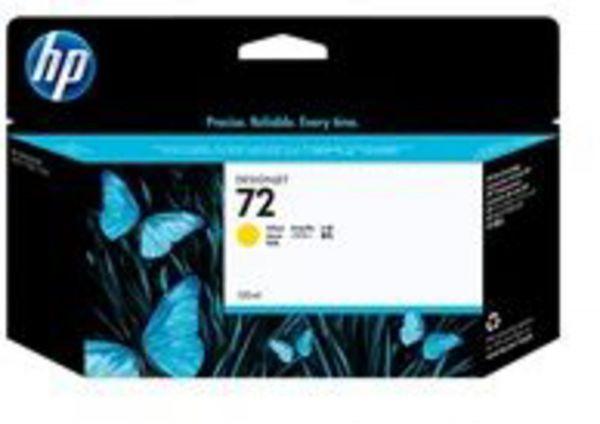 HP Tintenpatrone Nr. 72 Gelb Vivera (130ml)