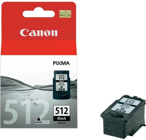 Canon Tintenpatrone PG-512 schwarz (ca. 401 Seiten)