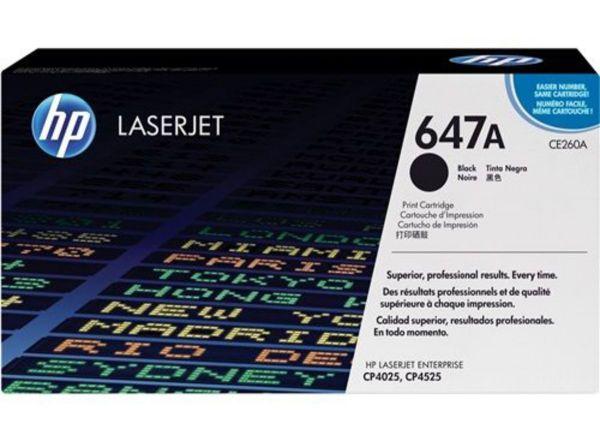 HP Toner 647A CE260A Schwarz (ca. 8500 Seiten)
