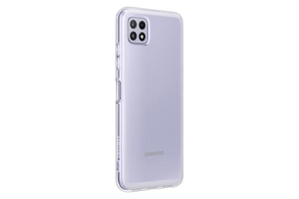 Samsung Soft Clear Cover EF-QA226 f. Galaxy A22 5G Transparent