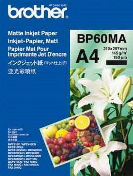 Brother Inkjetpapier matt A4 25 Blatt (bis 6000 dpi) 145g/m²