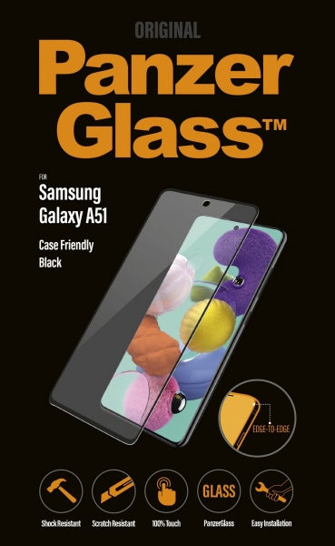 PanzerGlass 7216 Mobiltelefon-Bildschirmschutzfolie Klare Bildschirmschutzfolie Samsung 1 Stück(e)