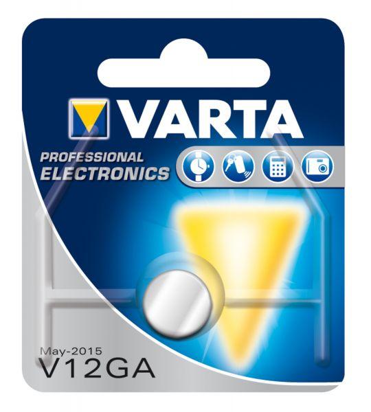 VARTA Knopfzellenbatterie Electronics V12GA (LR43) Alkaline