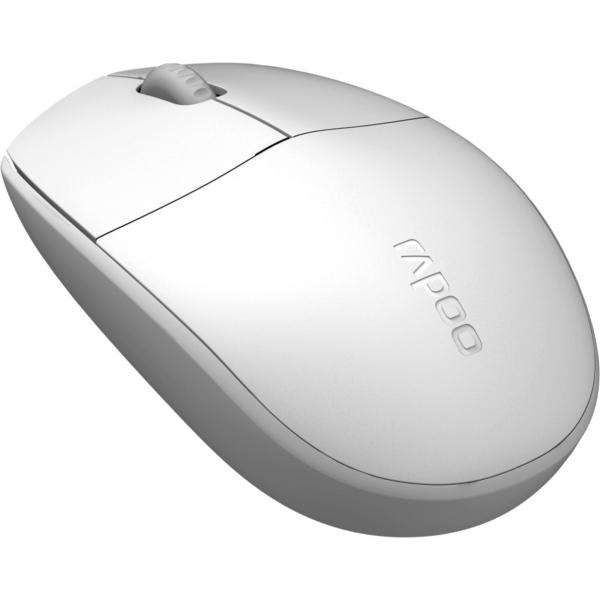Rapoo N100 Weiß Optische Maus