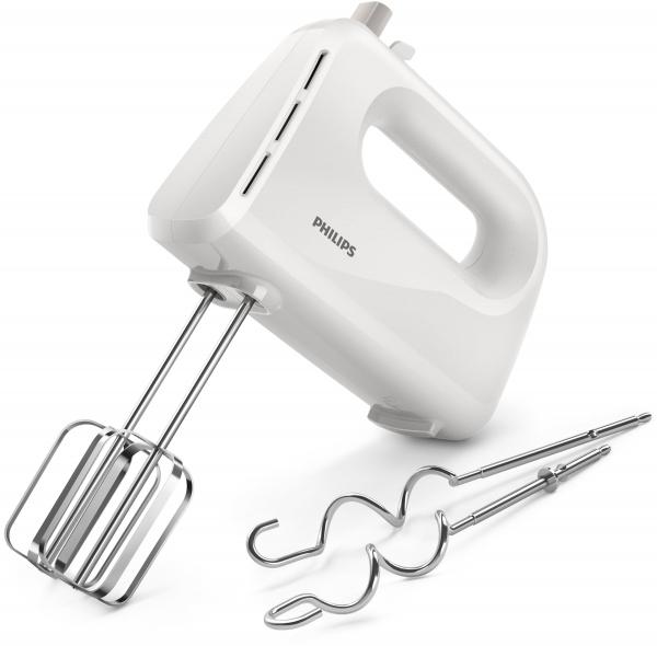 Philips Daily Collection HR3705/00 Mixer Handmixer 300 W Weiß