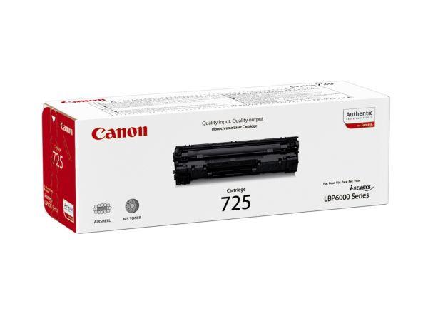 Canon Toner CRG 725 schwarz (ca. 1600 Seiten)