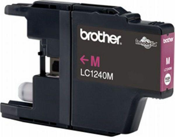 Brother Tintenpatrone LC-1240M Magenta (ca. 600 Seiten)