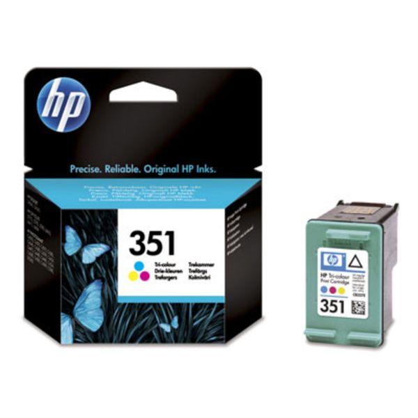 HP Tintenpatrone Nr. 351 CB337EE 3-farbig (ca. 170 Seiten)