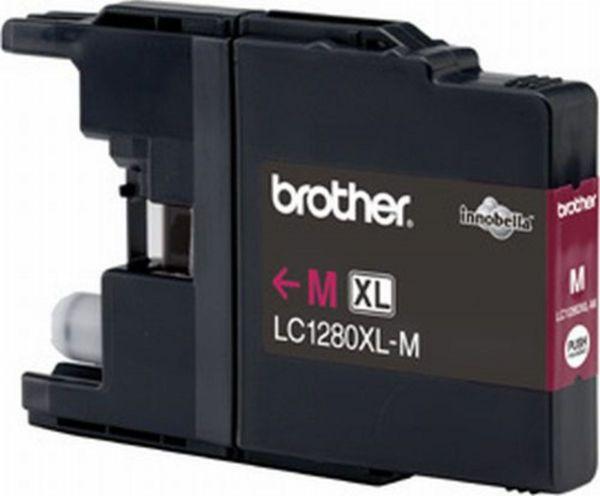 Brother Tintenpatrone LC-1280XLM Magenta (ca. 1200 Seiten)
