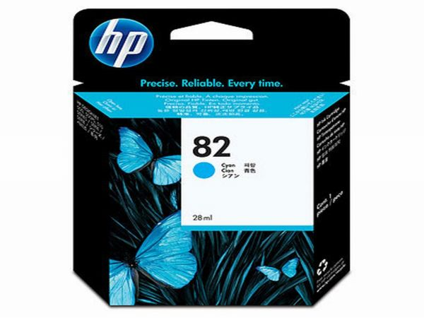 HP Tintenpatrone Nr. 82 C4911A cyan (69ml ca. k.A. Seiten)