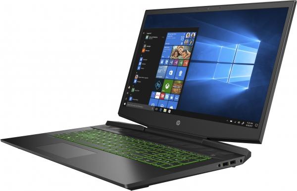 HP Pavilion Gaming 17-cd1644ng DDR4-SDRAM Notebook 43,9 cm (17.3 Zoll) 1920 x 1080 Pixel Intel® Core™ i5 Prozessoren der 10. Generation 8 GB 512 GB SSD NVIDIA® GeForce® GTX 1650 Wi-Fi 6 (802.11ax) Windows 10 Home Schwarz