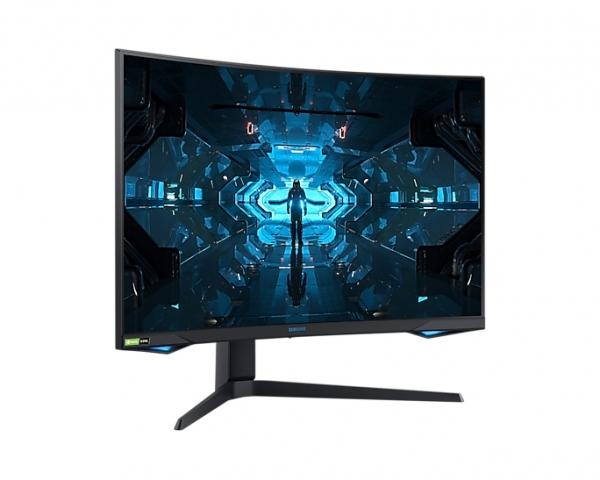Samsung Odyssey C32G74TQSR 81,3 cm (32 Zoll) 2560 x 1440 Pixel Wide Quad HD+ QLED Schwarz