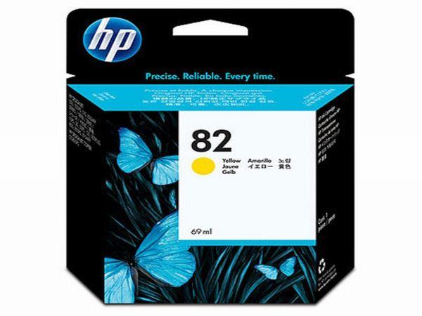 HP Tintenpatrone Nr. 82 C4913A gelb (69ml ca. k.A. Seiten)