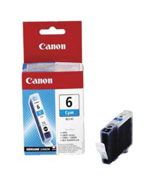 Canon Tintenpatrone BCI-6C Cyan (ca. 280 Seiten)