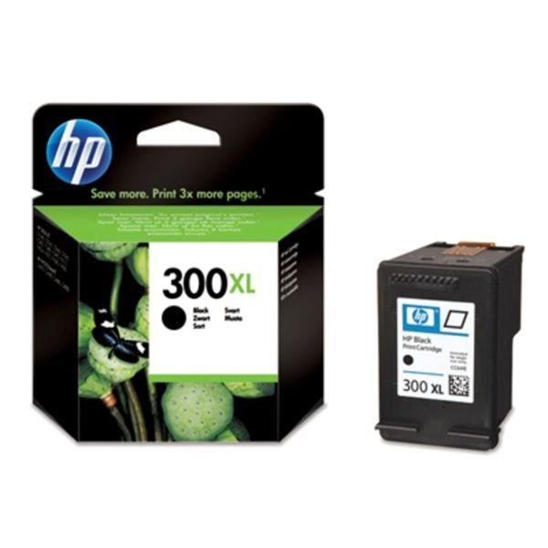 HP Tintenpatrone Nr. 300XL CC641EE Schwarz (ca. 600 Seiten)