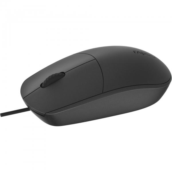 Rapoo N100 Schwarz Optische Maus