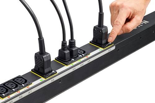 Eaton EMAB12 Stromverteilereinheit (PDU) 0U Schwarz 24 AC-Ausgänge