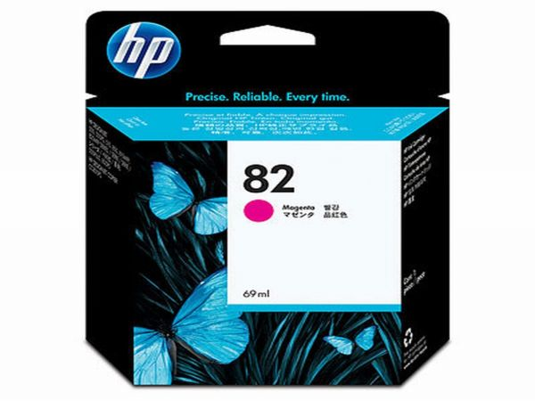 HP Tintenpatrone Nr. 82 C4912A magenta (69ml ca. k.A. Seiten)